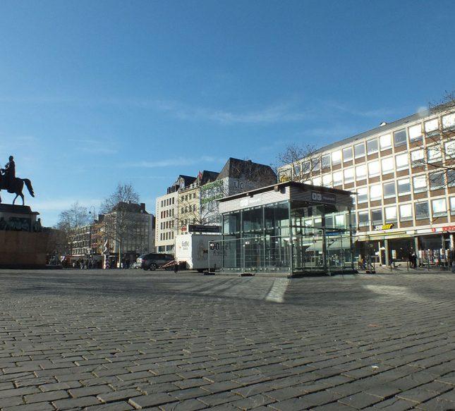 Köln Heumarkt Reiterdenkmal
